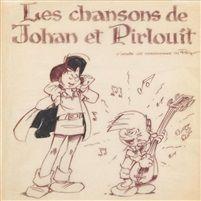 Johan et Pirlouit cover for album Les chansons de Johan et Pirlouit by Peyo