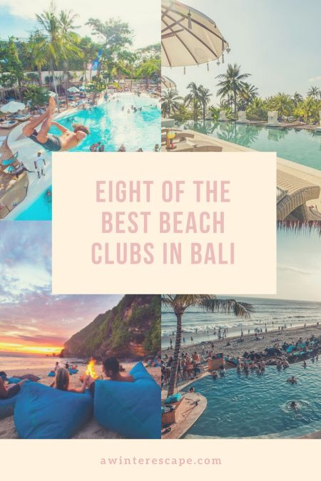 The Eight Best Beach Clubs In Bali, Indonesia