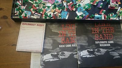 A line in the sand TSR 1991 vintage board game 3032