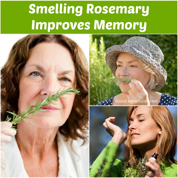 A team of researchers at Northumbria University found that smelling rosemary improves memory after conducting a study on a group of senior citizens.