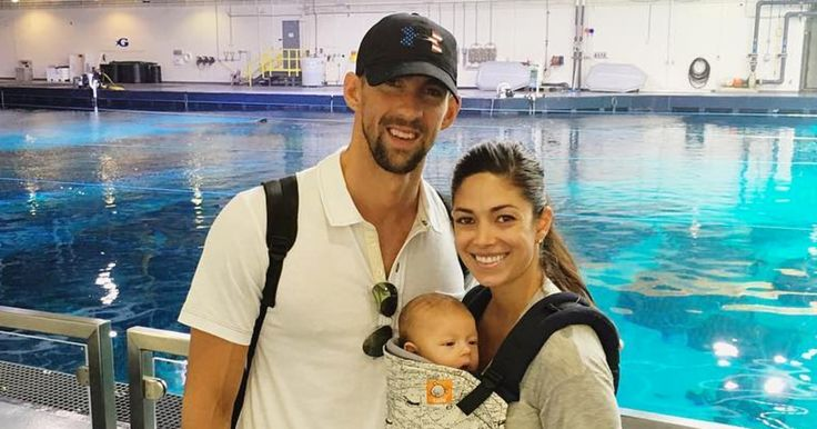 Michael Phelps' son, Boomer, is ready for the Olympics with a slew of new outfits to wear while cheering his dad on — read more