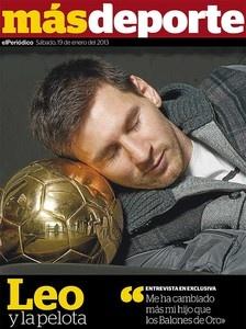 Messi's pillow