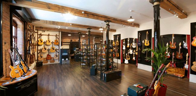 The coolest guitar store