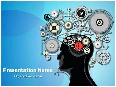 Best Brain Powerpoint Templates  Human Brain Powerpoint Template