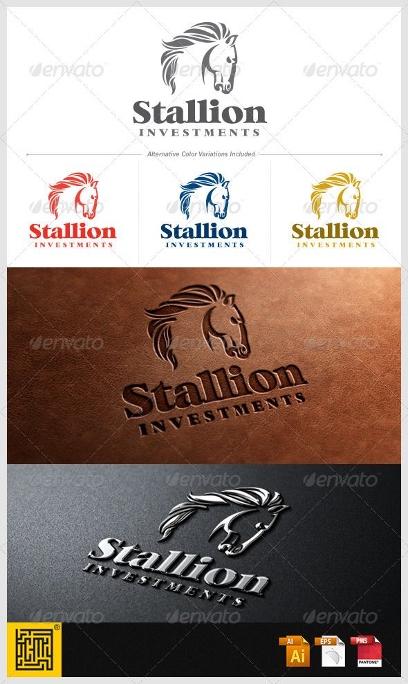 Stallion Investments Logo Design Template Vector #logotype Download it here: http://graphicriver.net/item/stallion-investments/3609897?s_rank=498?ref=nexion
