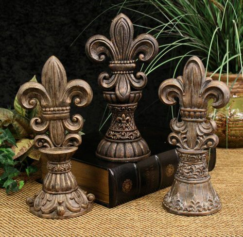 Office Decorating Idea: Fleur De Lis Standing
