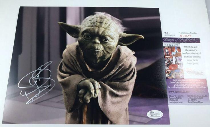 WARWICK DAVIS signed 8x10 Photo YODA Star Wars Episode 1 The Phantom Menace JSA