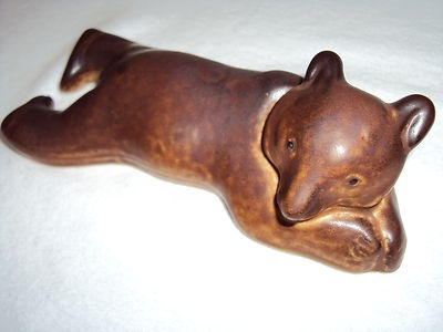 Arabia Finland Bear Figurine