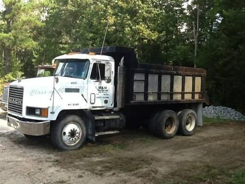 1991 Mack Dump Truck For Sale  1991 Mack Dump Truck. 350 Mack motor. 9 speed transmission. Mack rear ends. 11R 24.5 tires. Heavy duty dump b...