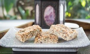 No bake, nut free muesli bar - Well Nourished - Simple recipes, whole foods, inspired health