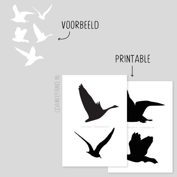 Die besten 25 vogel silhouette ideen auf pinterest for Raumgestaltung vogel