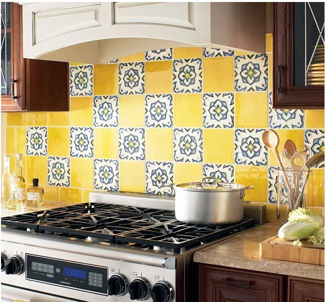 Ceramic Tile Backsplash Design Ideas Glamorous Design Inspiration