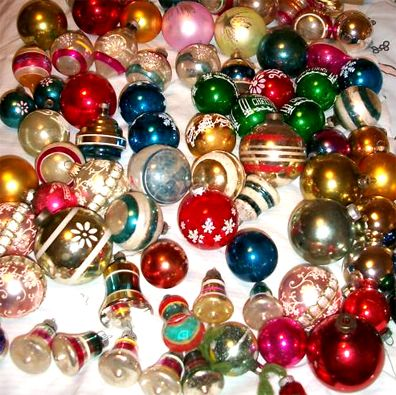 1950s christmas ornaments | 1950's Atomic Ranch House: 1950's Christmas Ornaments