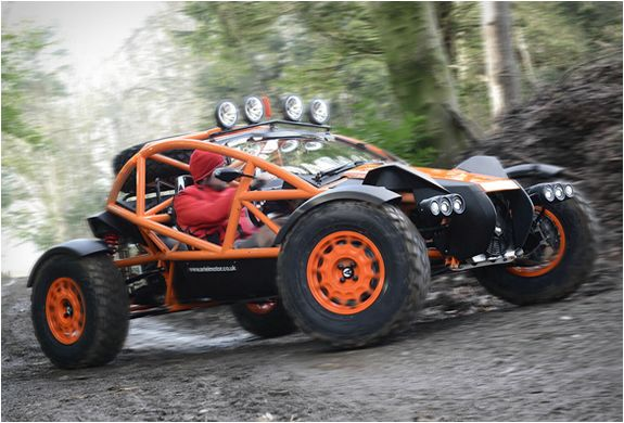 ARIEL NOMAD - this would be an awesome toy. But not for almost 45 grand.