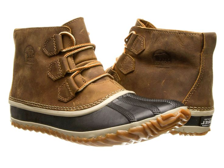 The Out-N-About by Sorel - Blend of sneaker, barn, and cool boots. - Seam sealed waterproof - Full-grain leather - Made for every weather condition