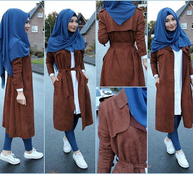 Hijab / Kopftuch / Basörtü - www.misselegance.de (Hijab 215) Shirt / Hemd / Gömlek - Miss Elegance (Elegance 426) Pants / Hose / Pantolon - H&M Jacket / Jacke / Ceket - Nisa Shoes / Schuhe / Ayakkabilar - Converse