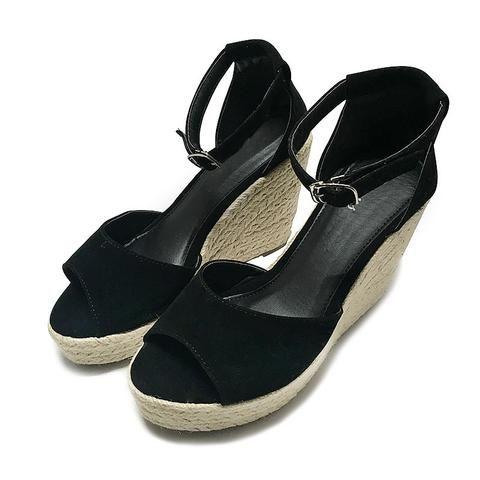 Comfortable Wedge High Platform Open Toe Women Sandals  Women's Summer Fashion Sandals Heels Shoes