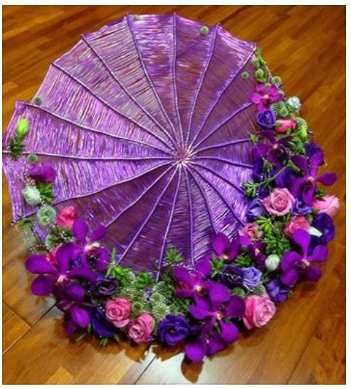 I really love the umbrella trend we're seeing at the moment. Lots of interesting designs!