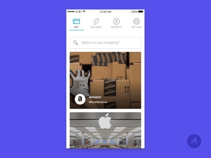iOS Payments & Tab Bar Transition by John Francis