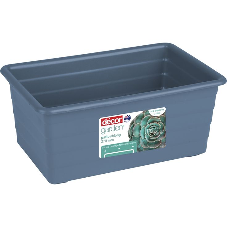 Find Decor 27cm Denim Standard Plastic Patio Planter Pot at Bunnings Warehouse. Visit your local store for the widest range of garden products.