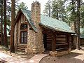 Another photo of a Bryce Canyon Lodge cabin. We stayed here for our anniversary this week. Just exactly right!