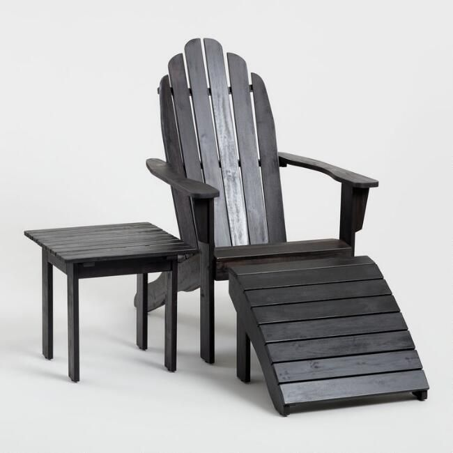Espresso Brown Adirondack Chair V1 Affordable Outdoor