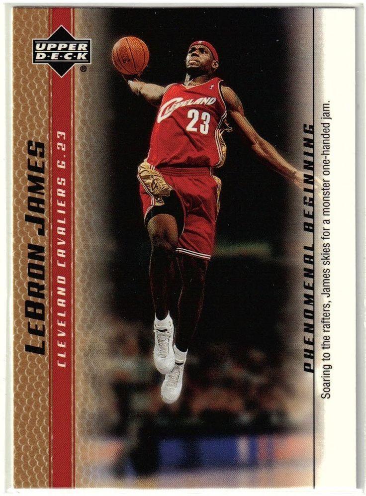Back to Cleveland! 200304 Upper Deck LeBron James
