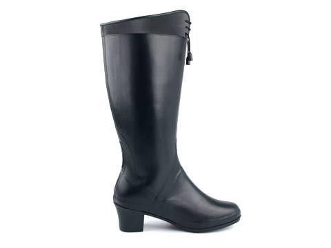 Black rubber boots | Viking: Grace Hi