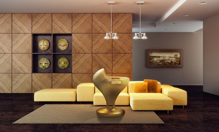Luulu Design prezentuje łóżeczko Luulu Gold z 24 karatowym złoceniem .