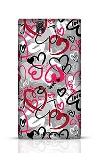 Love-Print Sony Xperia Z Phone Case