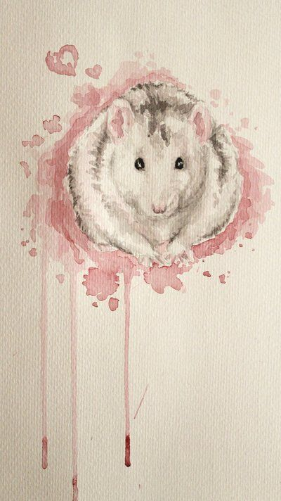 sonic-pencil: I once painted a rat for Sandra - one of my first paintings after my perfectionist-phase. And I actually liked it ^^