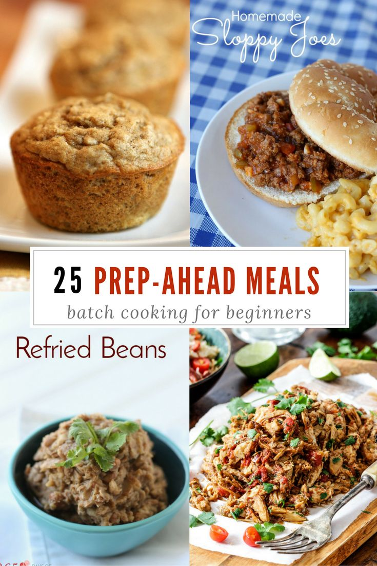 Meal prep makes the week SO much easier! Taking advantage of batch cooking, freezer-friendly meals and smart menu planning (not to mention the printable shopping list) will save you time AND money. Bonus: these recipes actually taste good, too. :) batch cooking | prep ahead meals | crockpot | crock pot | slow cooker | menu planning | large family meals | freezer meals |