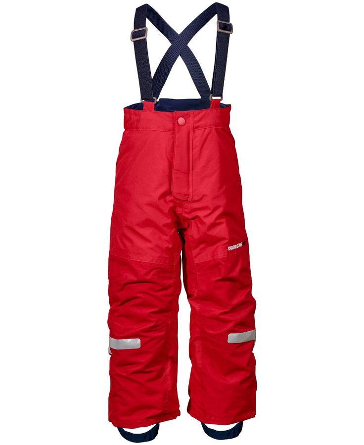 Didriksons Idre Kids Ski Pants - Red