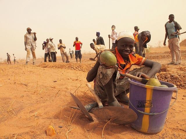West African Food Crisis 2012: Helping farming through food for work by Caritas Internationalis, via Flickr