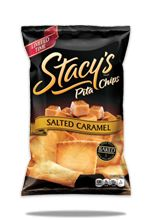 stacy's salted caramel pita chips- Limited-time-flavor alert! Shut the front door!!!