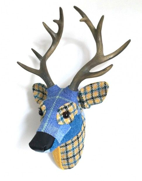 April Barrie, Bert, Textile Taxidermy | Scottish Contemporary Art