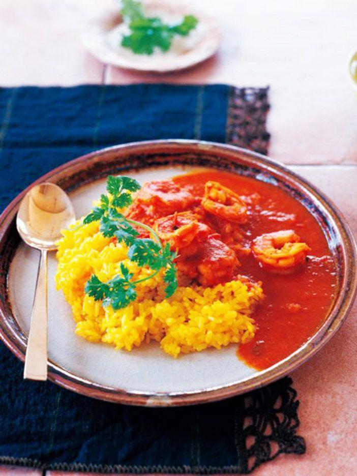【ELLE a table】海老のトマトバターカレーレシピ|エル・オンライン