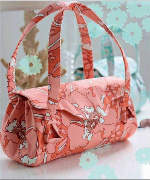 Free Bag Pattern and Tutorial - Blossom Handbag