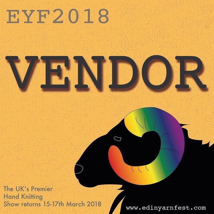 Im delighted to announce that we will be at Edinburgh Yarn Festival 2018. Were already planning preparing and getting very excited about it.   Will we see you there? - #EYF2018 #eyf #edinburghyarnfestival #edencottageyarns