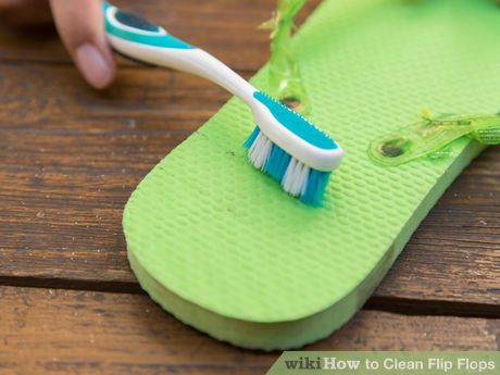 Image titled Clean Flip Flops Step 3