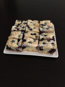 Blueberry cake (Bublanina)