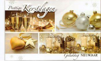 Prettige kerstdagen - Gelukkig Nieuwjaar!  aanbieding stijlvolle kerstkaarten en Nieuwjaarskaarten