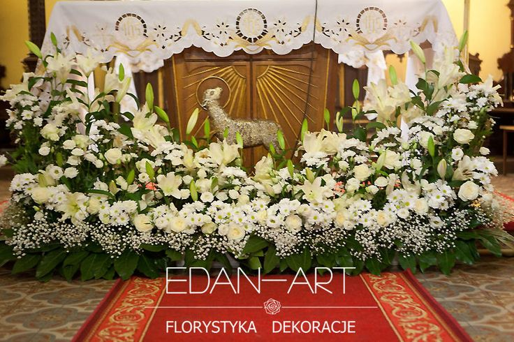 Dekoracje kościołów Mrągowo, Olsztyn, Warmińsko-Mazurskie Edan-Art #wesele #slub