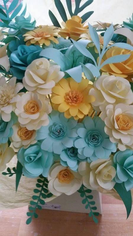 Handmade paper flower bouquets So creative so environmentally ...