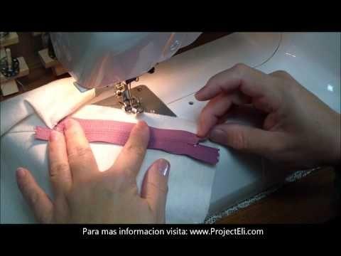 Project Eli - Como colocar cierres o zippers (HD) - YouTube