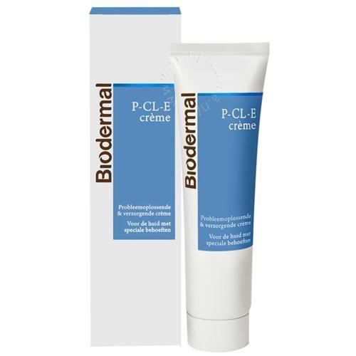 Biodermal P CL E Creme 15 ml - E�n van die producten waar Biodermal erg trots op is: Een hoogwaardige, zeer effectieve huidcr�me, voor de huid met speciale behoeften of kwetsbare, gevoelige huid. P-CL-E Cr�me is zowel voor het gezicht als het lichaam te gebruiken.