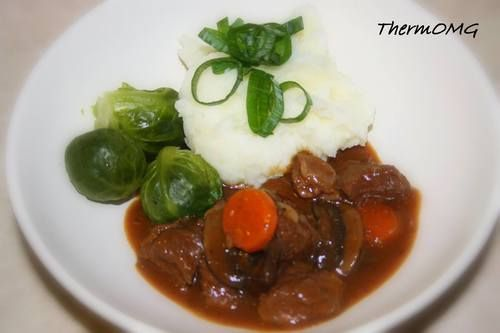 Peppered Beef and Mushroom Stew — ThermOMG