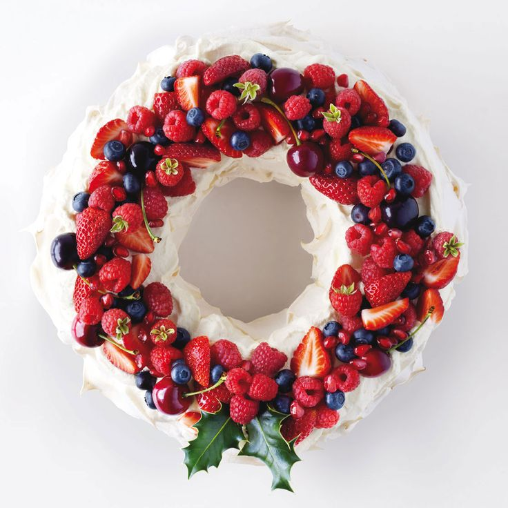 South African Christmas pavlova  www.cuisine.co.nz