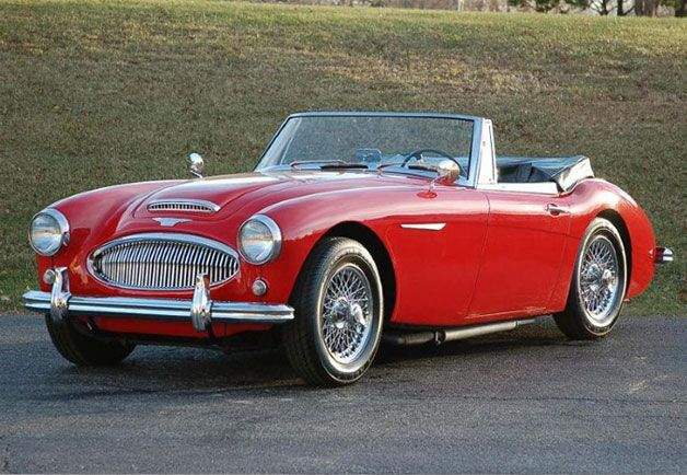 "GQ.com: Austin-Healey 3000 (1959-1967) Though it debuted in 1959, the Austin-Healey 3000 (known as the ""Big Healey"") is too exquisite, too curvy, too unmistakably British not to include here. Who wouldn't look good driving one of these?."