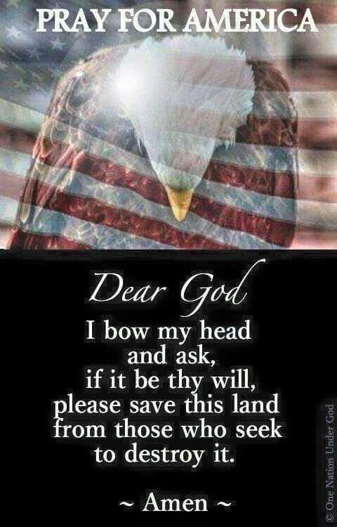 PRAYING FOR AMERICA!!!